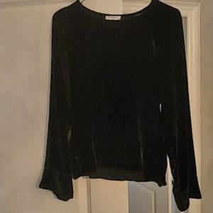 Equipment velvet top. Worn twice!